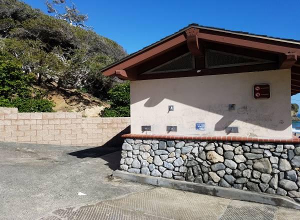 Restrooms Crescent Bay Beach Photos Laguna Beach California